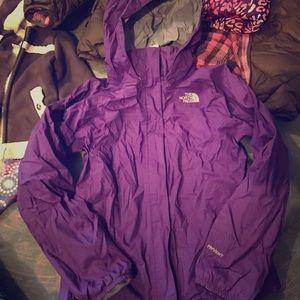 Other - Girls Northface Jacket Shell windbreaker size L